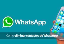 whatsapp elimina contactos