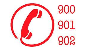 Precio de los 902 y 900